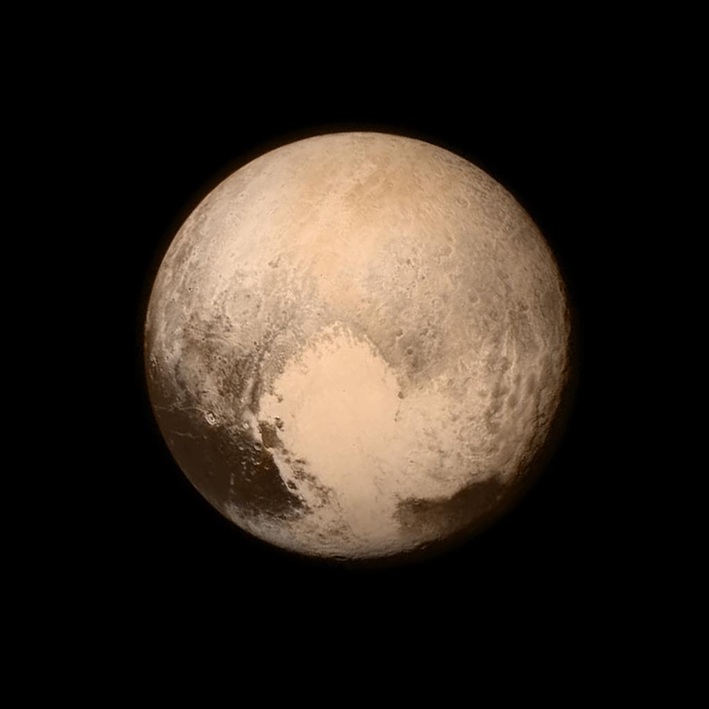 Approaching Pluto